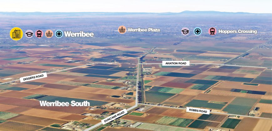 Approx 13 Acres for sale in werribee South